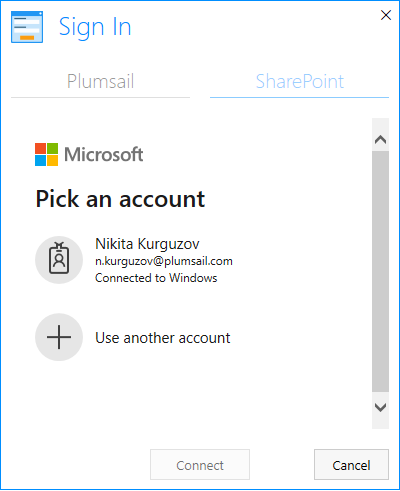 New authentication method